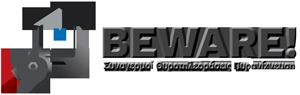 Beware! logo